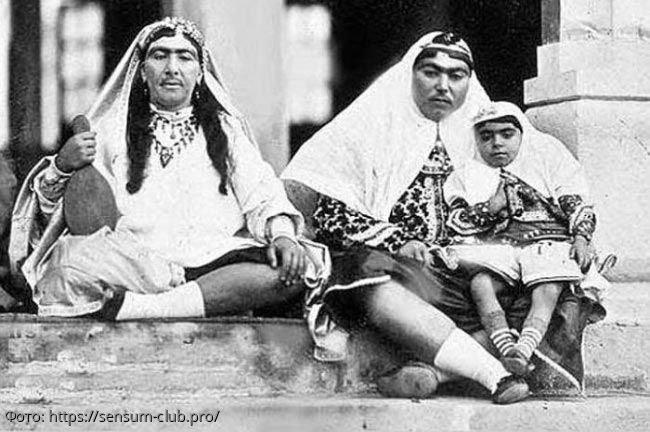 Редкие фото наложниц гарема Османской империи