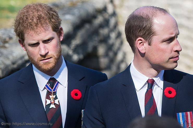 Конфликт королевского масштаба: причины, по которым поссорились принцы Уильям и Гарри