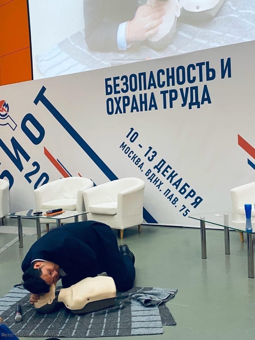 Как оказывать первую помощь пострадавшим, рассказали на международной выставке «Безопасность и охрана труда»