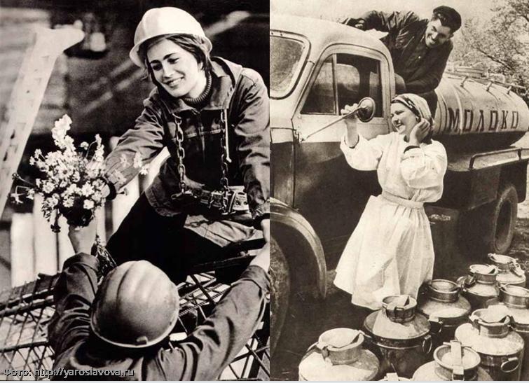 Красота без фотошопа: 10 фото простых советских женщин, от которых не отвести глаз