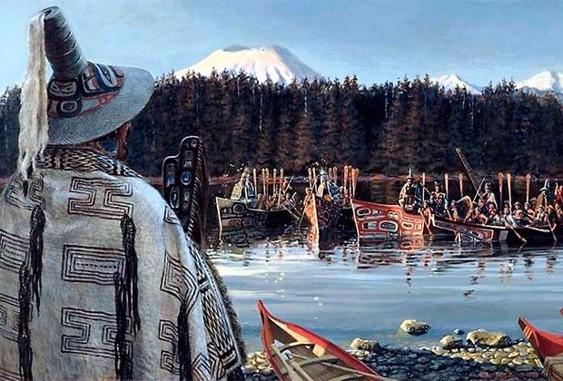 Как индейцы-тлинкиты вынудили Россию продать Аляску