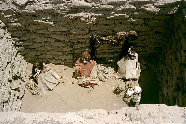 Оторванные руки мумий тоже приносят несчастья