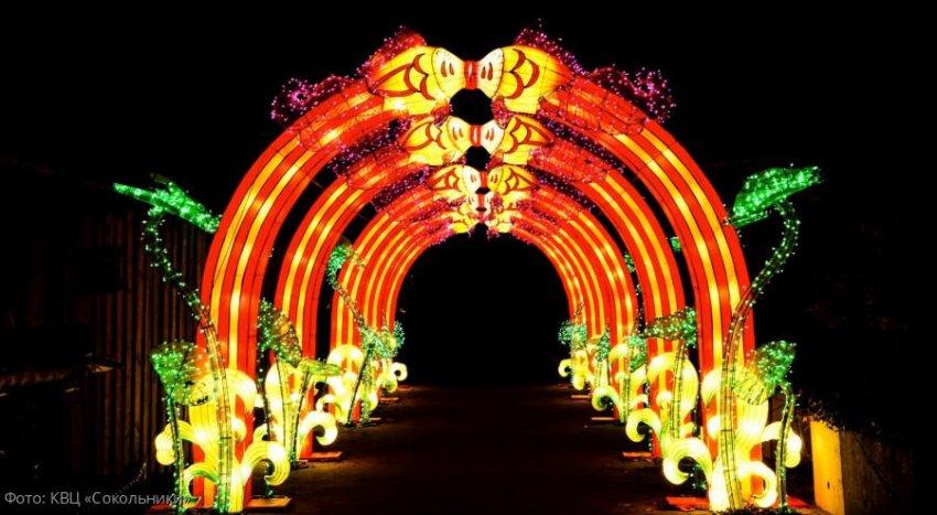 В Сокольниках состоится фестиваль «Волшебные китайски6е фонари»