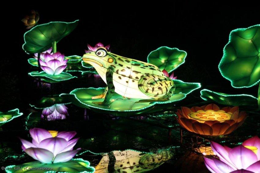 В Сокольниках состоится фестиваль «Волшебные китайские фонари»