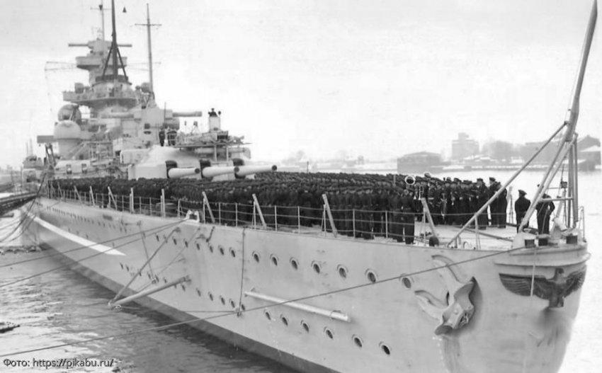 На дне Атлантики обнаружен знаменитый линкор времен Первой мировой войны
