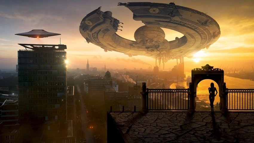 В США над военной базой завис гигантский НЛО