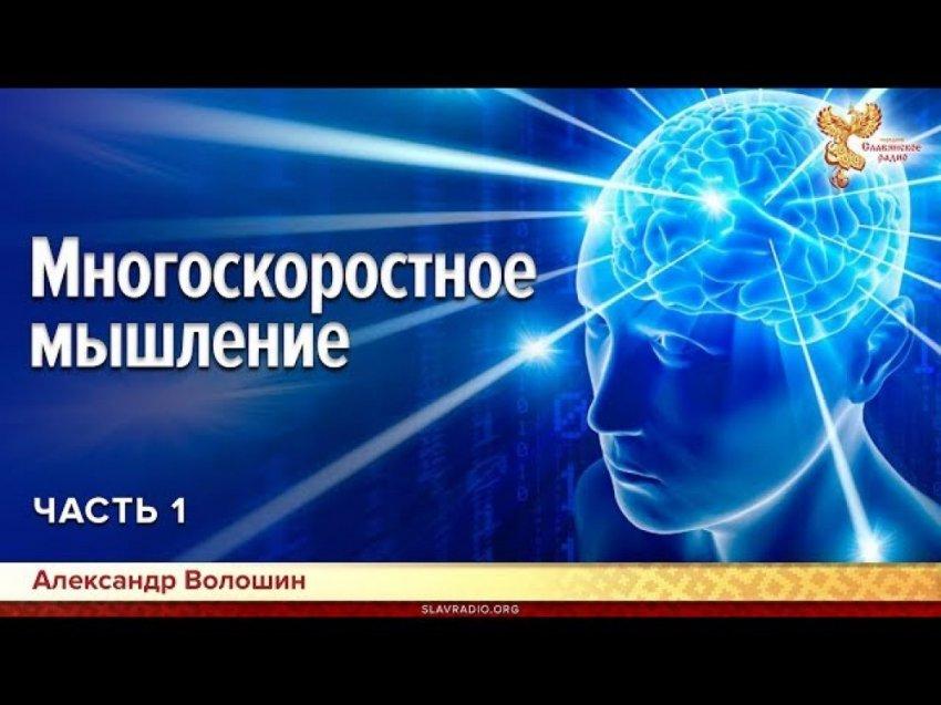 Многоскоростное мышление. Александр Волошин. Часть 1