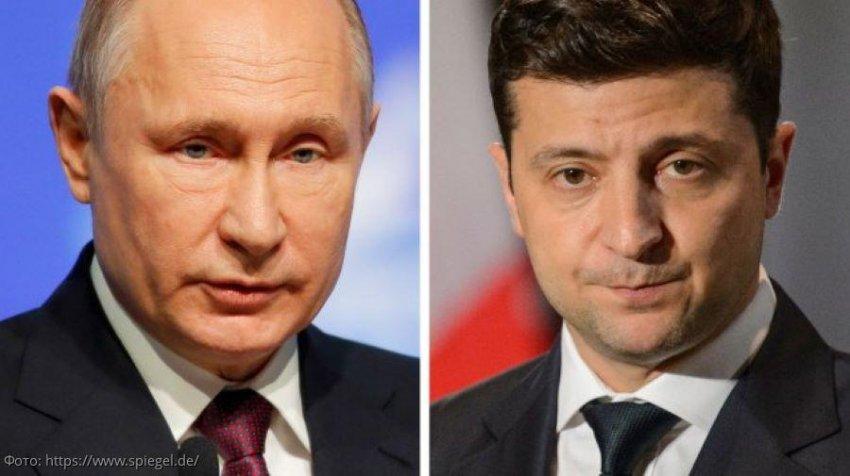 Владимир Путин и Владимир Зеленский встретились в Елисейском дворце в Париже