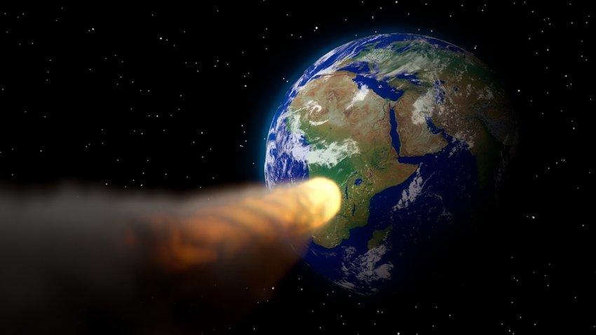 Астероид Апофис может спровоцировать изменение климата и цунами