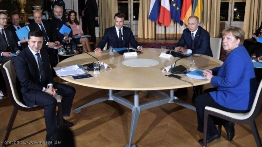 Участники саммита в Париже договорились о перемирии на востоке Украины
