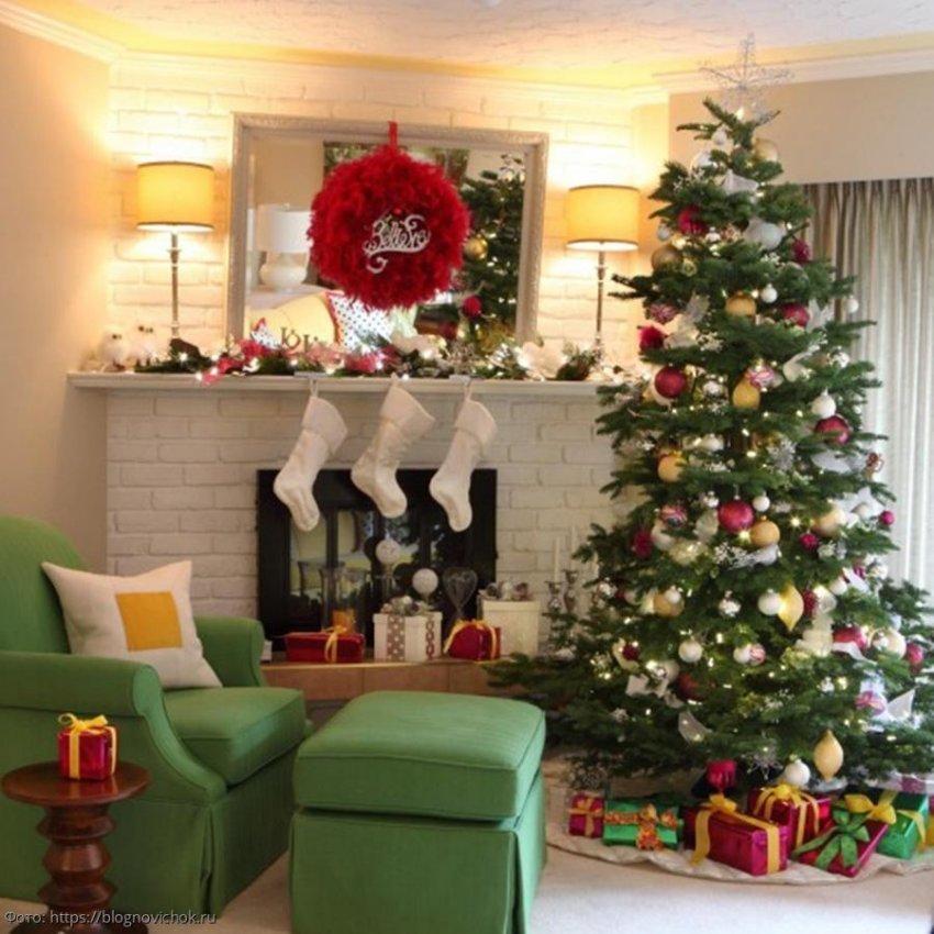 Дополнения в интерьер под Новый год, которые помогут призвать удачу в дом