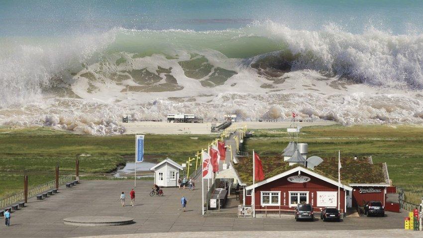 У побережья Калифорнии зафиксирована 22-метровая волна