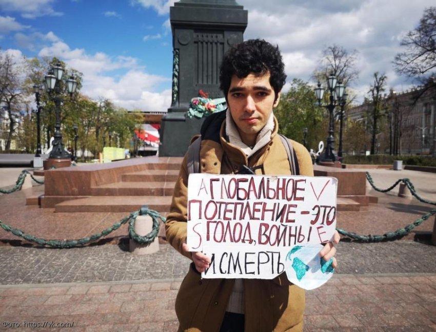 Экоактивист Аршак Макичян выступил на одной трибуне с Гретой Тунберг