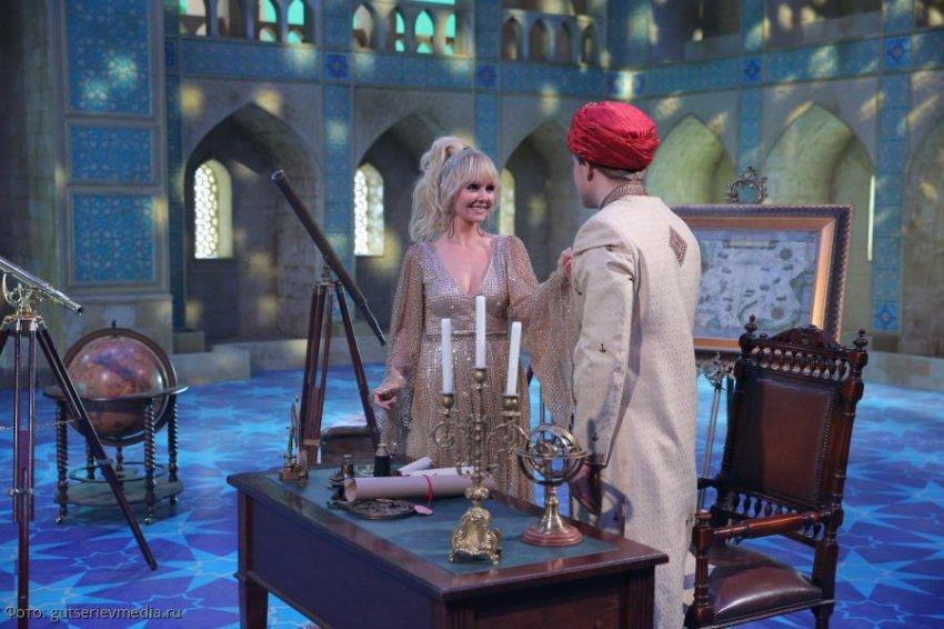 В Новогоднюю ночь телеканал НТВ покажет премьеру мюзикла «Тысяча и одна ночь, или Территория любви»