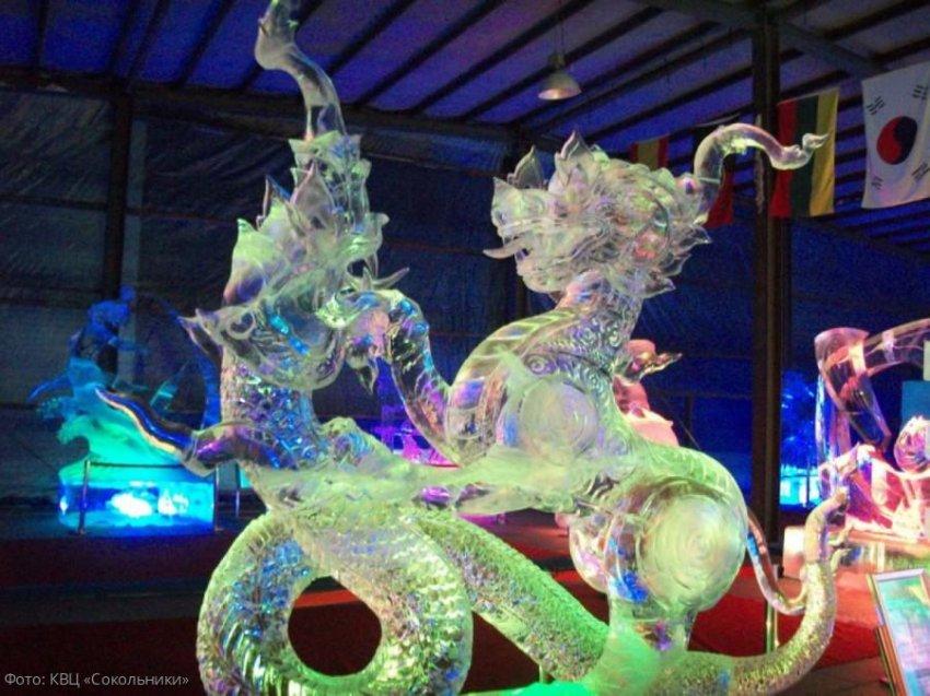 Харбинский международный фестиваль снежных и ледяных скульптур в Москве