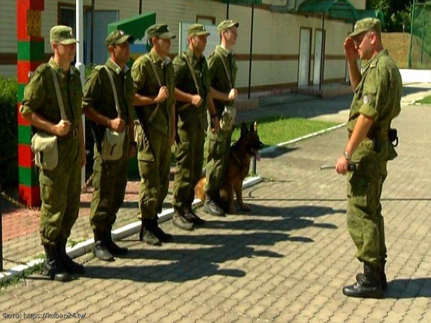 За попытку применения насилия к сотрудникам Пограничного управления суд приговорил жителя Хадыженска к штрафу