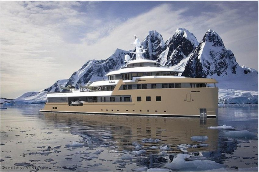 Forbes анонсировал внутренний дизайн «дачи» миллиардера – яхты-ледокола Олега Тинькова