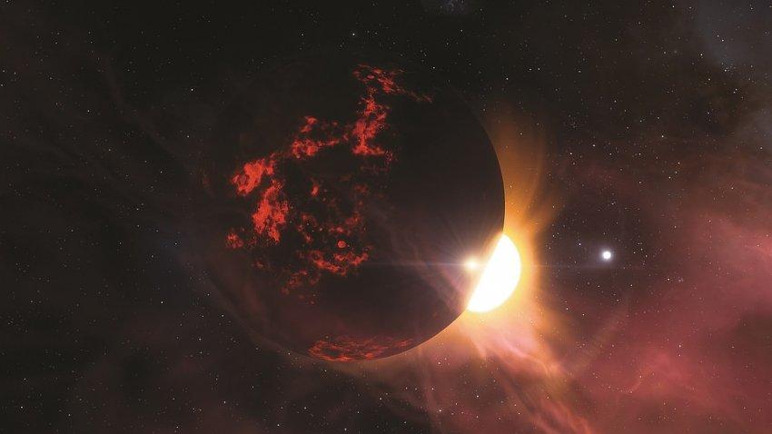 Недалеко от нас обнаружена планета чуть больше Земли