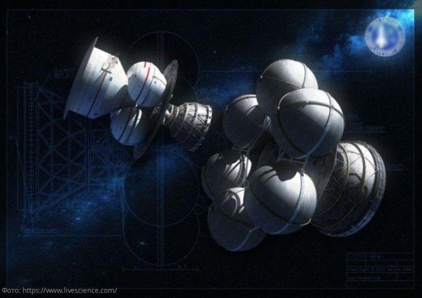 Межзвёздное путешествие: фото 7 футуристических космических кораблей для исследования космоса