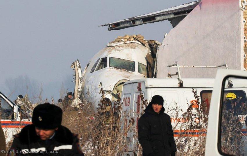 Стали известны подробности крушения воздушного лайнера в Казахстане