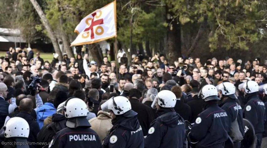 РПЦ выступила в защиту Сербской православной церкви в Черногории