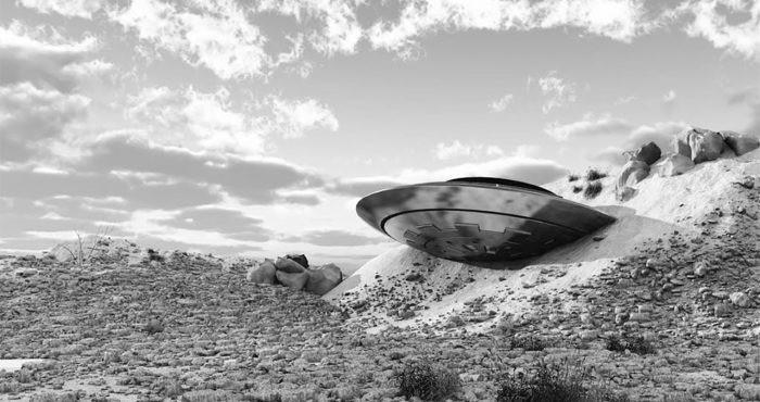 Забытое крушение НЛО в городе Ацтек