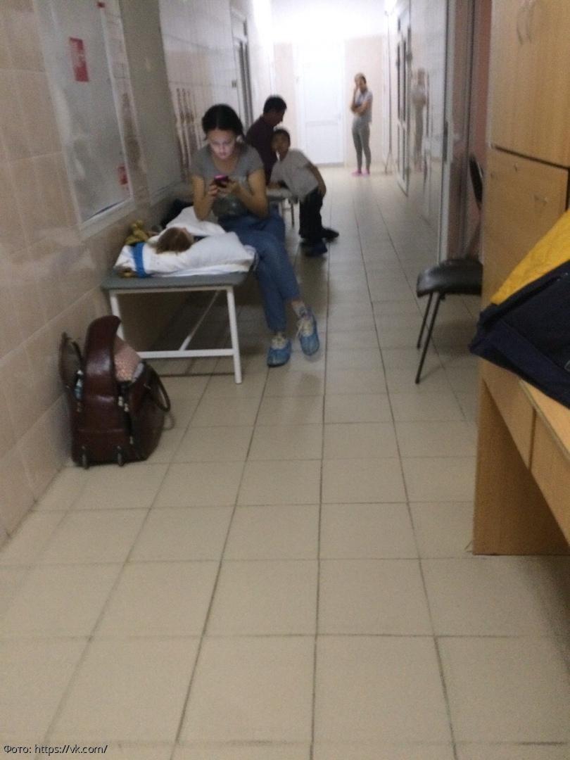 В сети появились жалобы о переполненной Инфекционной клинической больнице №1 в Москве