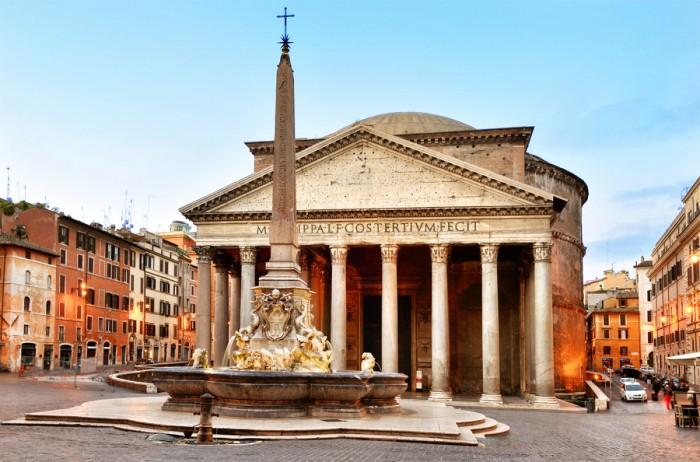 Древнеримский Пантеон - Храм всех богов