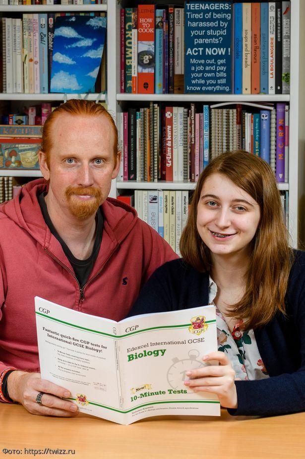 Англичанин помог своей дочке подготовиться к биологии и случайно спас себе жизнь