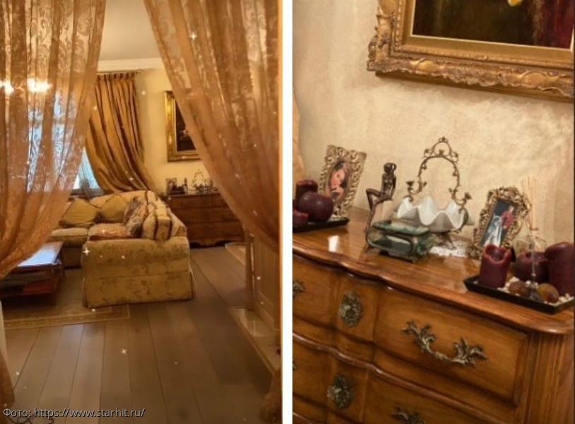 Сестра Жанны Фриске показала, как выглядит квартира певицы спустя 4 года после ее смерти