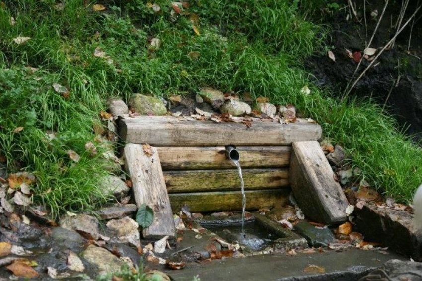Аналитика выходов больших потоков воды из структуры гор и холмов
