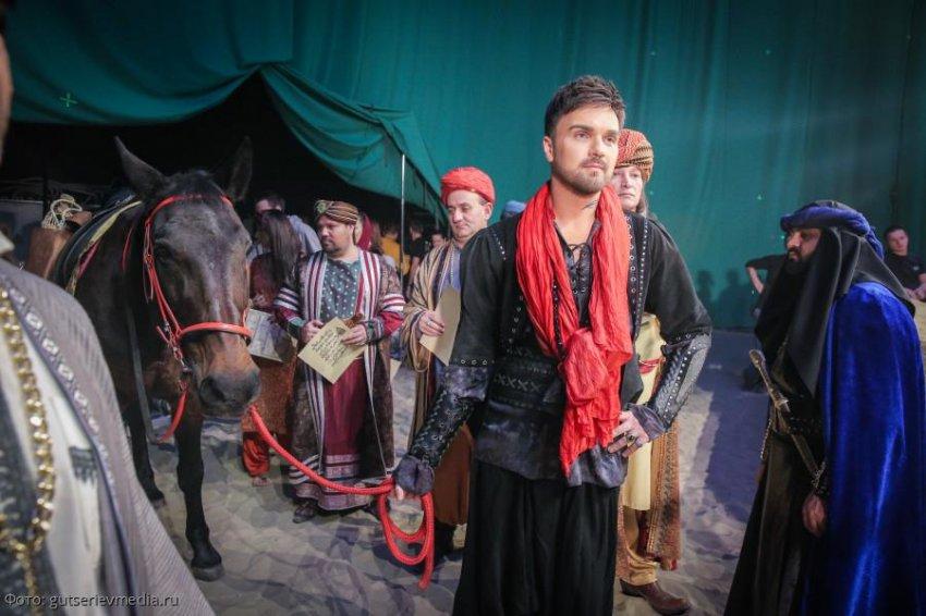 Восточные сказки поэта Михаила Гуцериева с успехом прошли на НТВ