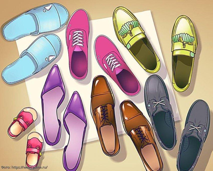 Тест на внимательность: посмотрите на картинку с обувью в прихожей и определите, что на ней не так
