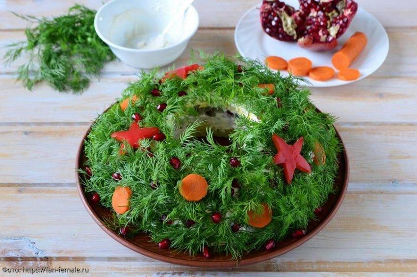 3 чудесных салата к рождественскому ужину