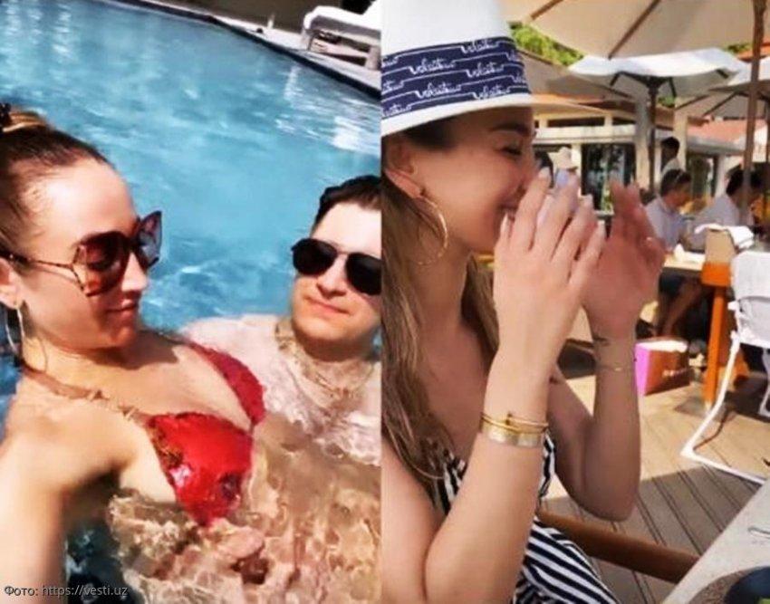 «Сладкие обнимашки»: Ольга Бузова наслаждается медовым месяцем с новым мужем в Таиланде