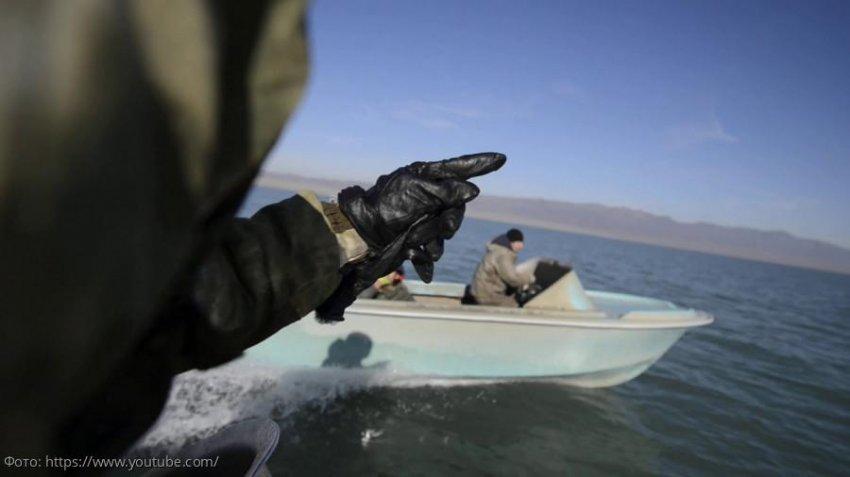 В Приазовском заказнике задержаны трое граждан за незаконную добычу водных биологических ресурсов