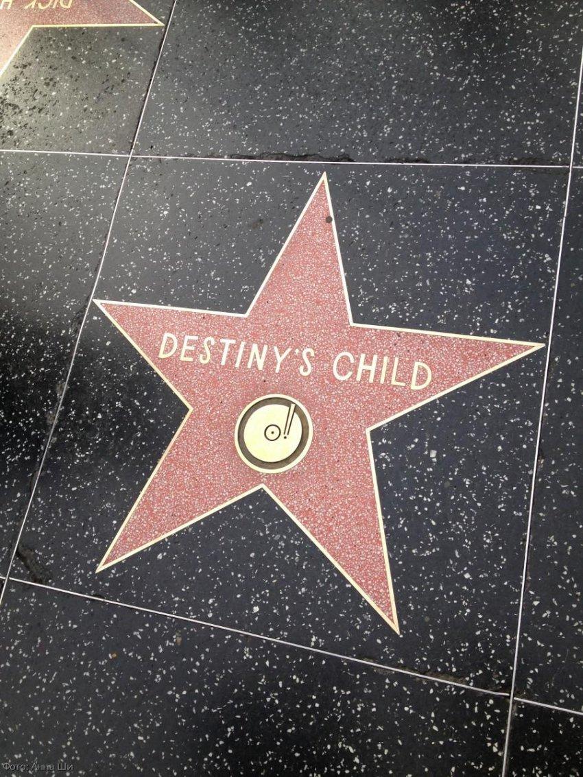Прогулка по Аллее славы в Голливуде, Лос-Анджелес