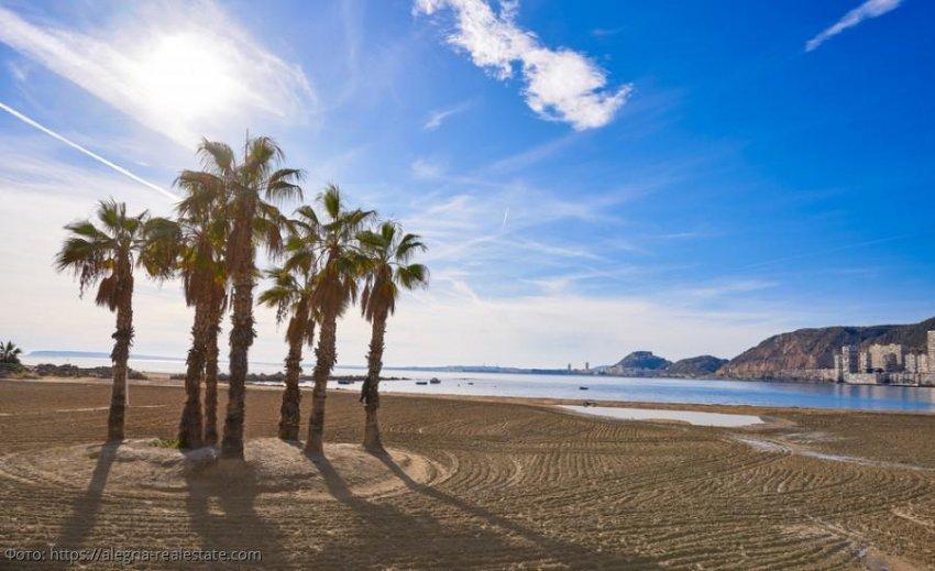 Пляжи Аликанте – все для любителей «ленивого» отдыха