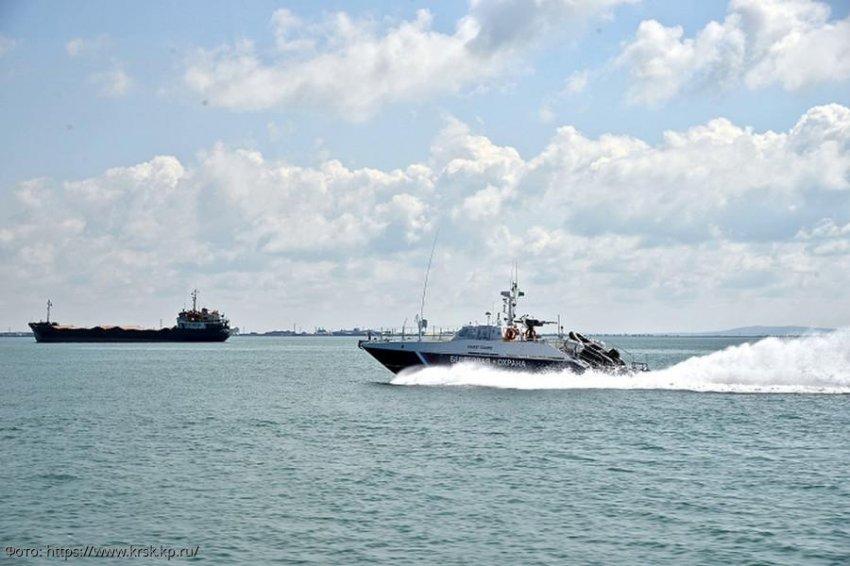Сотрудники погрануправления обеспечивают стабильность и безопасность в Черноморско-Азовском регионе