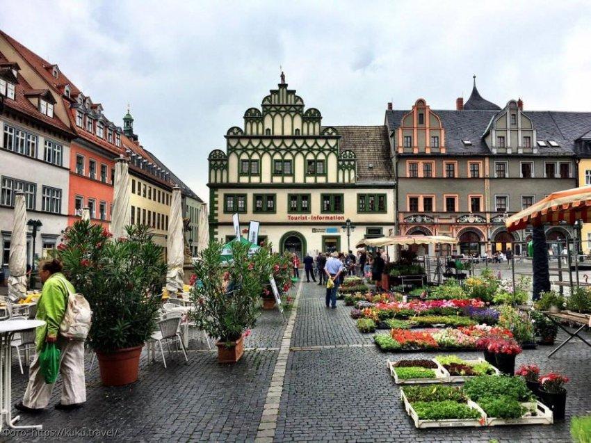 Веймар – город в Германии с богатой историей