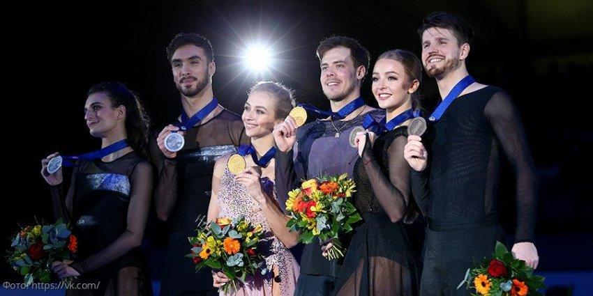 Впервые за 14 лет, Российские фигуристы завоевали все золото Европы