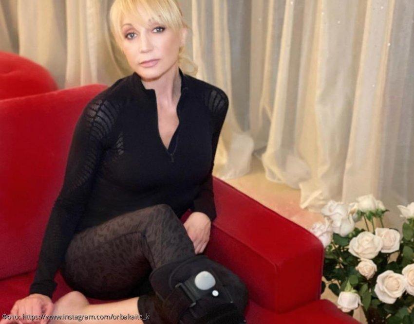 Кристина Орбакайте сломала лодыжку и отменила все ближайшие концерты