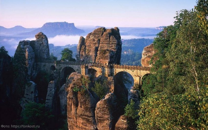 Саксонская Швейцария – монументальная красота
