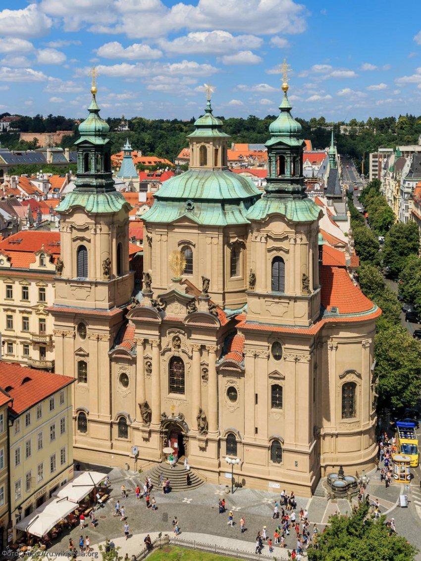 Церковь святого Николая – символ бесконечной дружбы Чехии и России