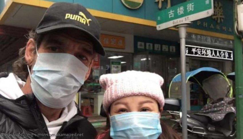 Мужчина прилетел в Китай ради возлюбленной под угрозой заражения коронавирусом