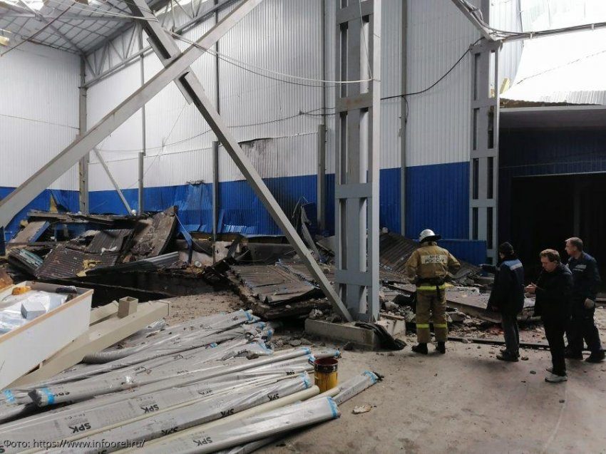 На заводе под Орлом произошёл взрыв, есть погибшие