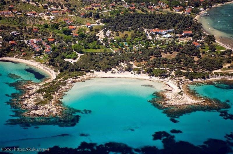 Вурвуру (Халкидики) в Греции: пляжи, погода, лучшие достопримечательности