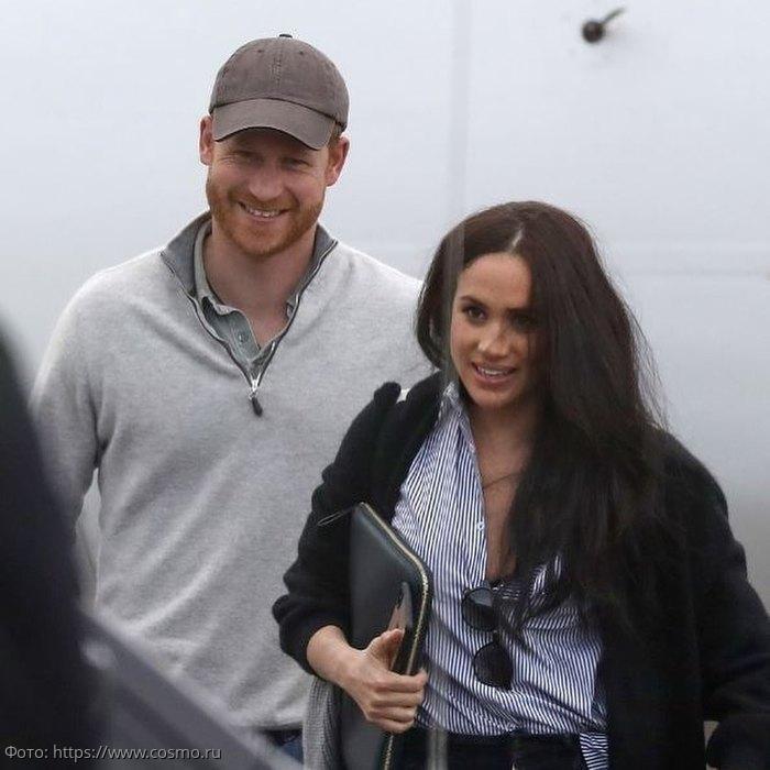 Счастливых Меган Маркл и принца Гарри впервые сфотографировали вместе после «Мезгита»