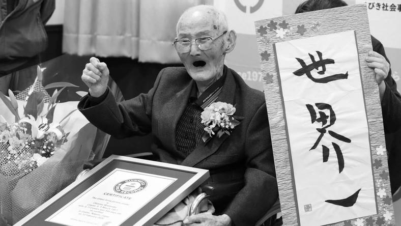 Умер самый старый мужчина в мире: ему было 112 лет