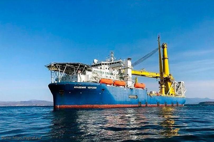 «Академик Черский»: интрига с судном-трубоукладчиком набирает обороты